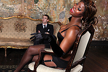 Jasmine Webb in The King's Cock - Picture 1