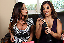 Ariella Ferrera, Francesca Le in No Plastic Cock Can Match Johnny&#039;s Magic Wand - Picture 1