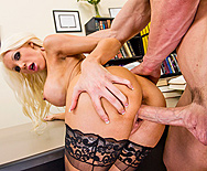 A Hard Fuck Chases Bad Grades Away - Holly Price - 3