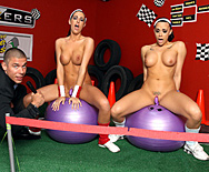 Rack Racers - Kortney Kane - Chanel Preston - 1