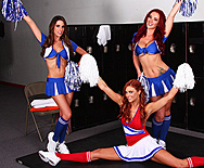 Cheerlickers - Jayden Cole - Jayden Jaymes - Kortney Kane - 1
