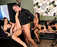 Office 4-play IV - Jenna Presley - Jessica Jaymes - Julia Ann - Kirsten Price - 3