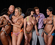 Miss Titness America - Diamond Jackson - Jewels Jade - Brandi Love - Kendra Lust - 1