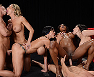 Miss Titness America - Diamond Jackson - Jewels Jade - Brandi Love - Kendra Lust - 5