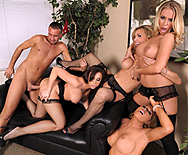 Office 4-Play: Christmas Edition! - Krissy Lynn - Tanya Tate - Chanel Preston - Nicole Aniston - 3