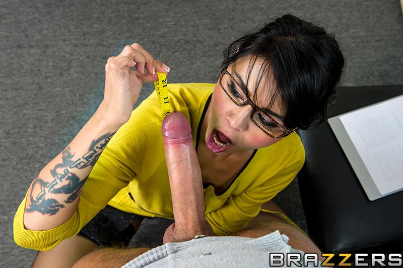 Brazzers dick size