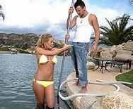 Diving Into Nicole - Nicole Aniston - 1
