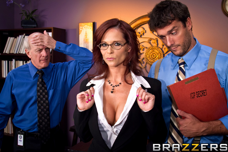Brazzers - The XXX Files Syren De Mer, Ramon
