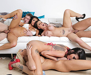 Spring Broke: Support the Blowjob Relief Fund - Christy Mack - Raven Bay - Rikki Six - Romi Rain - 4
