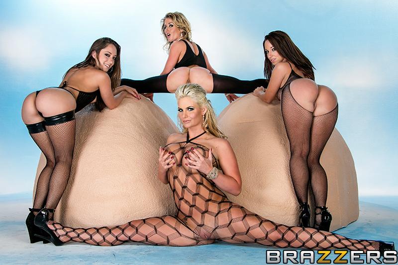Brazzers Got Back starring Phoenix Marie, Jada Stevens, Remy LaCroix