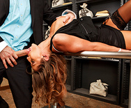 Tied Up and Spanked at the Bank - Madison Ivy - 2