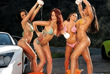 Carwash Day! Bubble Butts and Sudsy Sluts - Kirsten Price