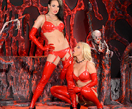 Horny Hosts of Hell - Nikki Benz - Alektra Blue - 1