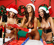 Santa's Horny Helpers - Dillion Harper - Lily Love - Whitney Westgate - 1