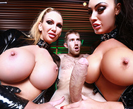Who Ya Gonna Call? Porn Busters! - Ava Koxxx - Leigh Darby - 3