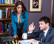 Getting The Boss's Attention - Jasmine Caro - 1