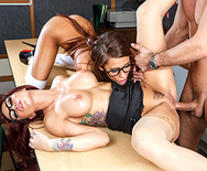 Are You Staring At Your Teacher's Tits - Madison Ivy - Monique Alexander - 3