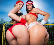 World Cup UK Team Tits - Jasmine Jae - Erica Fontes - 1