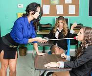 Ava and the Slutty Schoolgirls - Abigail Mac - Ava Addams - Ryan Ryans - 1