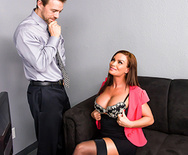 Office Tease - Diamond Foxxx - 1