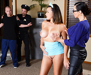 The Whorin' Warden Returns - Ariella Ferrera - Danica Dillon - 1