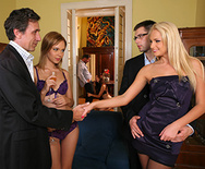 DP at the Euro Swinger Sex Party - Ivana Sugar - 1