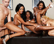 Office 4-Play VII: Ebony Babes - Anya Ivy - Diamond Jackson - Jade Aspen - Jasmine Webb - 3