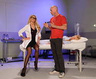 Doc Takes On The Biggest Cock - Jessa Rhodes - 1