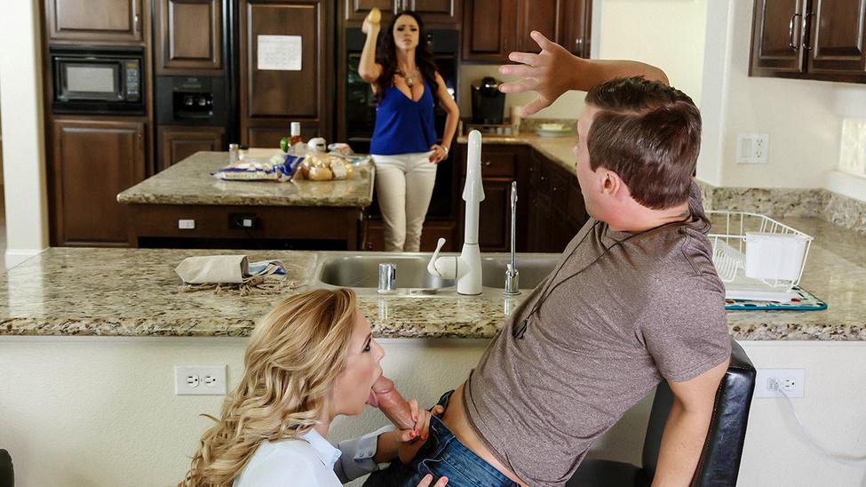 Moms in control - A Double Milf Stack - Ariella Ferrera, Cherie Deville