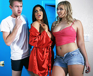 Room, Board and Bang - Romi Rain - Melissa May - 1