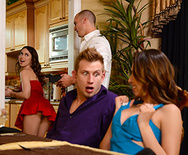Dinner For Sluts - Melissa Moore - Riley Reid - 1