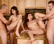 Dinner For Sluts - Melissa Moore - Riley Reid - 3