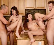 Dinner For Sluts - Riley Reid - Melissa Moore - 3