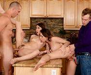 Dinner For Sluts - Melissa Moore - Riley Reid - 4