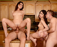 Dinner For Sluts - Melissa Moore - Riley Reid - 5