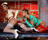 Lesbian Nurses - August Ames - Starri Knight - 4