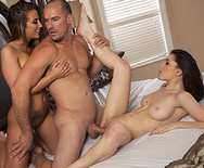 Three's Cum-pany - Layla London - Raylin Ann - 2
