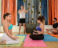 Yoga Freaks: Episode Four - Cassidy Banks - Abella Danger - 1