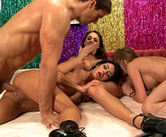 BRAZZERS LIVE 12: WHEEL OF SEX - Angelina Valentine - Monique Alexander - Chanel Preston - 2