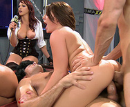 BRAZZERS LIVE 28: ASS CLASS 101 - Ava Devine - Tory Lane - Kelly Divine - Casey Cumz - Veruca James - 4