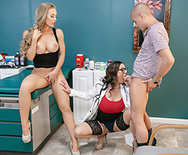 Doc, We're Stuck - Nicole Aniston - Kendra Lust - 2
