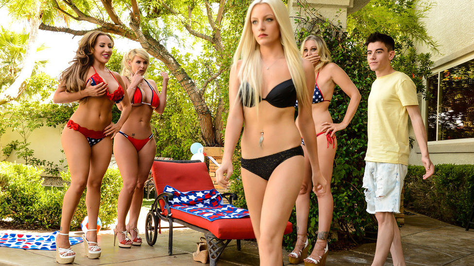 Cumming To America – Richelle Ryan, Phoenix Marie, Julia Ann & Jordi El Niño Polla